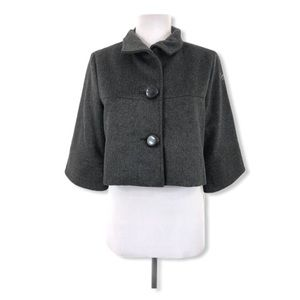 Mom2Mom Small Maternity Cropped Cashmere Jacket